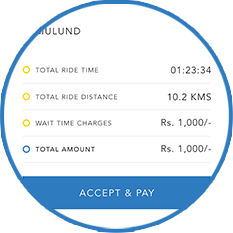 Ride, Accept & Pay